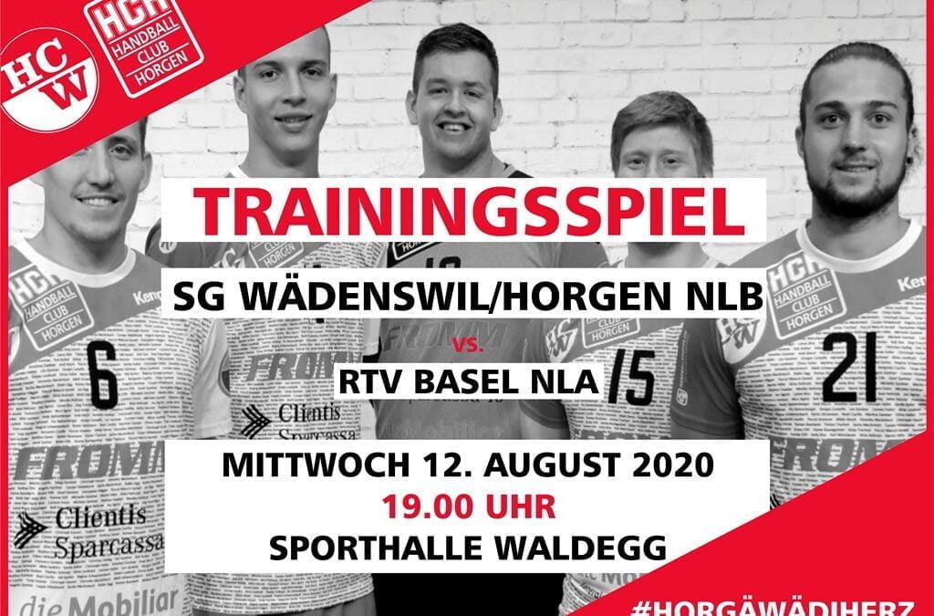 NLB: Trainingsspiel gegen RTV Basel in der Waldegg Horgen