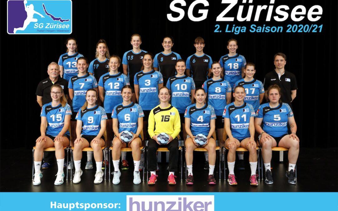 Spielvorschau: 2.Liga Frauen: SG Zürisee – Handball Brugg, Montag 19.10.2020, 20:30 Uhr Wädenswil Untermosen