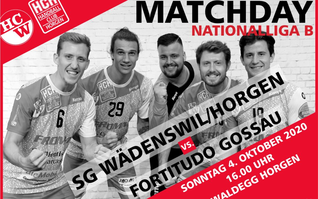 Spielvorschau NLB: SG Wädenswil/Horgen – TSV Fortidudo Gossau
