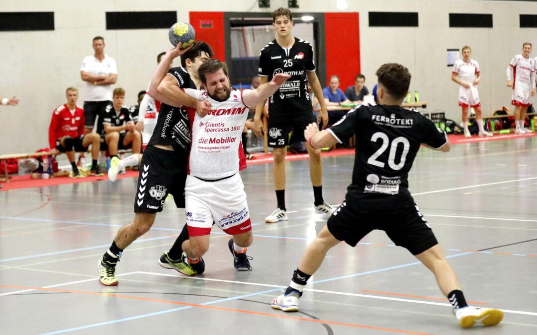 Spielbericht: Handball Cup Schweiz: SG Wädenswil/Horgen (NLB) – SG TV Solothurn (NLB)  37:21 (15:11)