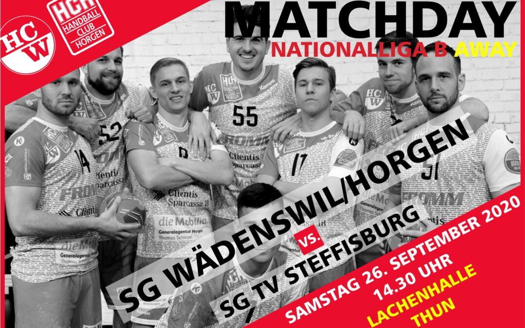 Spielvorschau: NLB: TV Steffisburg – SG Wädenswil/Horgen, Samstag 26.09.2020 14:30 Uhr, Lachenhalle Thun