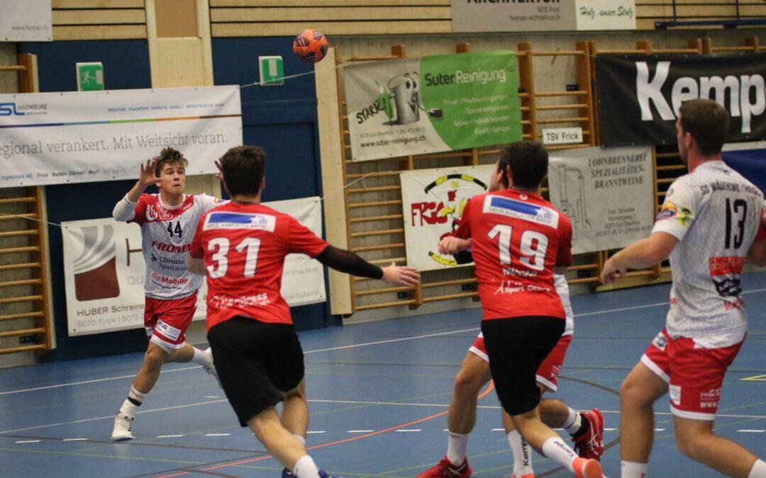 Spielbericht: 19.09.2020, M2-1. Liga, TSV Frick – SG Horgen/Wädenswil 26:26 (15:9)