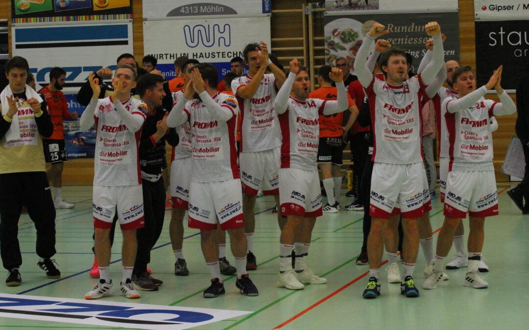 Spielbericht: NLB: TV Möhlin : SG Wädenswil-Horgen 23:29 (14:13)