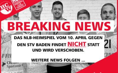 !ABGESAGT! Wiederbeginn der Handballmeisterschaft NLB