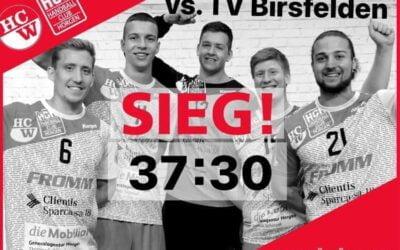 Spielbericht NLB: SG Wädenswil/Horgen – TV Birsfelden 37:30