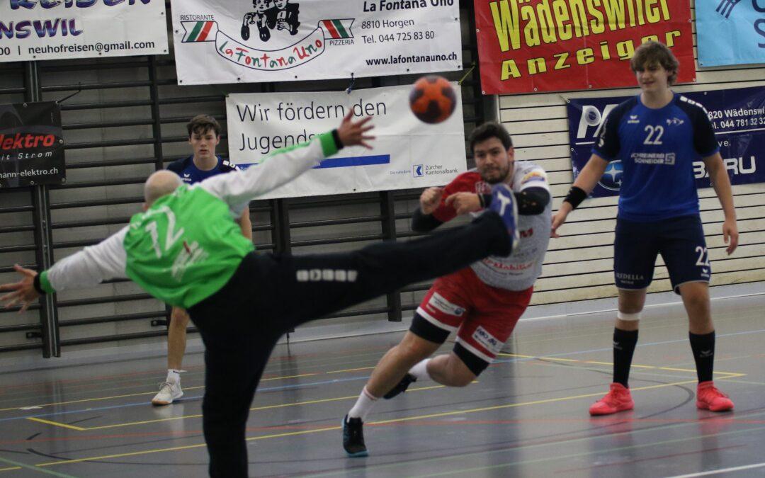 Spielbericht: 1. Liga: SG Horgen/Wädenswil 31:31 (11:15)