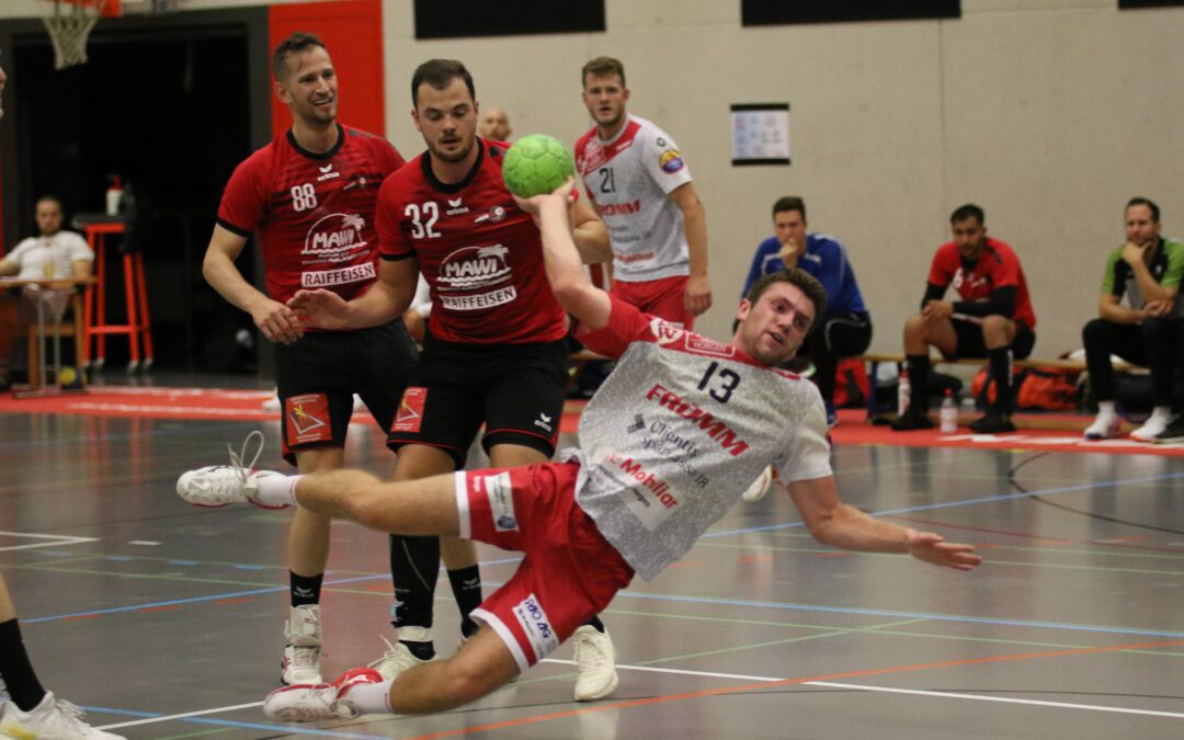 Spielbericht: Mobiliar Handball Cup, SG Horgen/Wädenswil (M1) – SC Frauenfeld (M1), 26:36 (9:17)