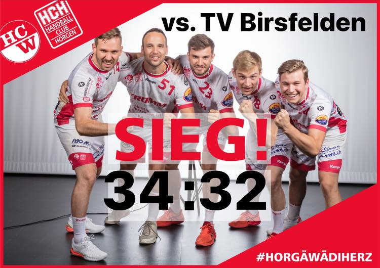 Spielbericht NLB: Erster Saisonsieg der SG Wädenswil-Horgen