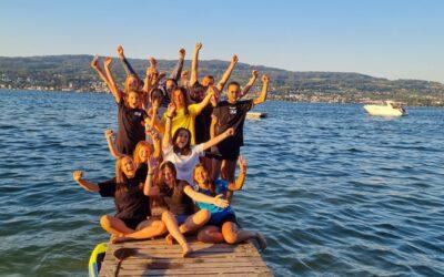 Kein Sprung ins Ungewisse, aber in die neue Saison – und den See!!!