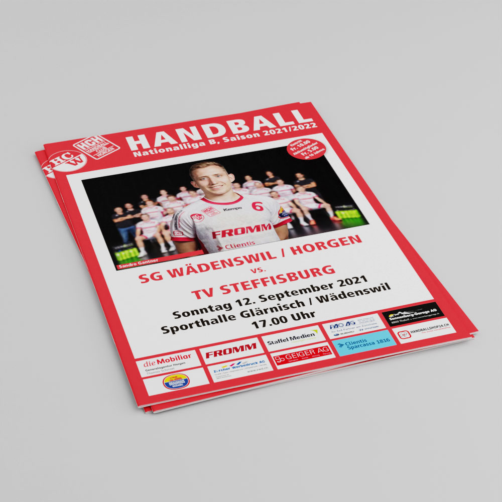Matchprogramm NLB 12.9.2021 Cover