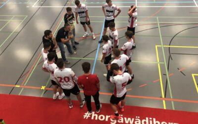 Spielbericht U17 Inter: SG Wädenswil/Horgen : SG Rhyfall/Munot 31 : 25 (13 : 9)